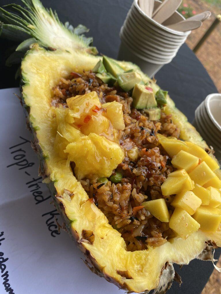 Tropi Fried Rice FL Gourmet Vegan Fest entry