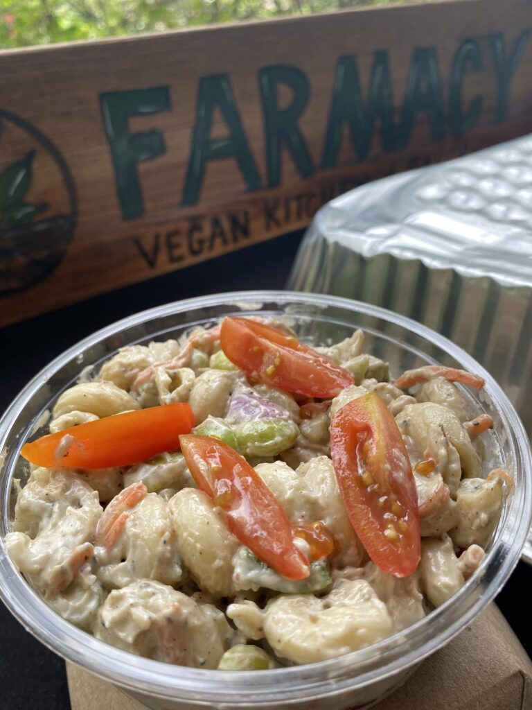 Farmacy Jerk Pasta entry FL Gourmet Vegan Fest